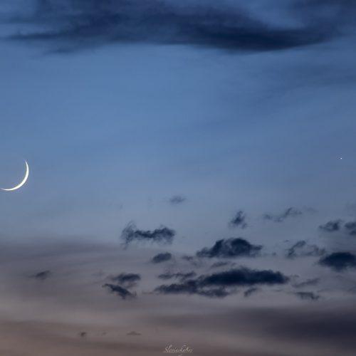 Mesiac a Merkúr