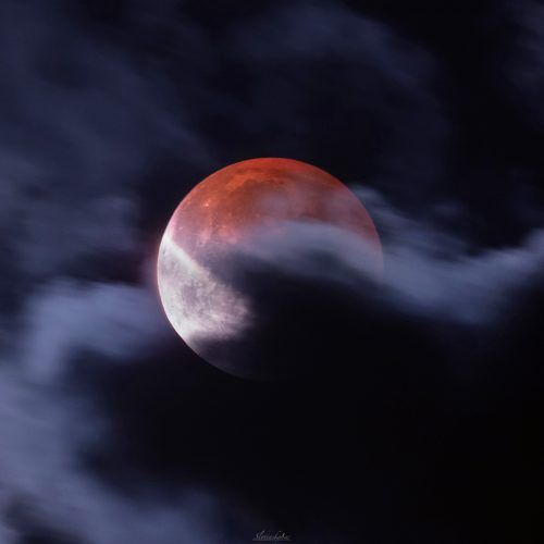 Reminding Moon eclipse